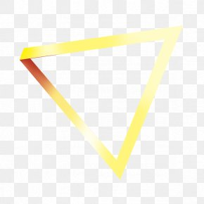 Triangle Border - Area Angle Yellow Pattern PNG