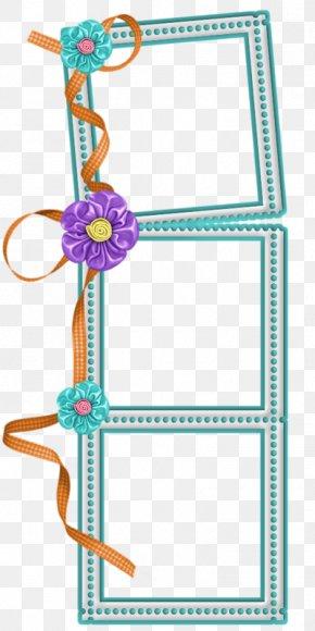 Flower Frame - Picture Frame PNG