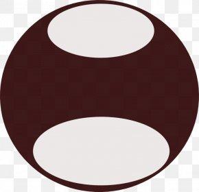 Mustache Outline - Circle Clip Art PNG