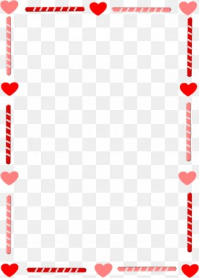 Heart Borders - Right Border Of Heart Valentines Day Clip Art PNG
