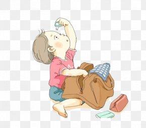 Studious Child - Cartoon Mammal Toddler Human Behavior Illustration PNG