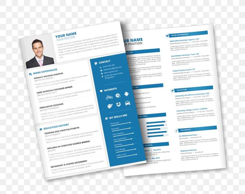 Curriculum Vitae Résumé Template Cover Letter Professional ...