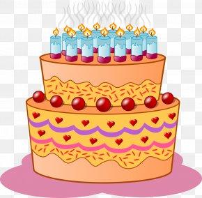 Birthday Cake - Birthday Cake Cupcake Cartoon Clip Art PNG