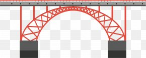 Red Bridge Bridge - Bridge Stock Illustration Royalty-free PNG