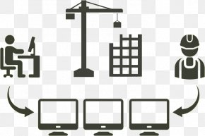 Computer Monitor Accessory Technology - Building Cartoon PNG