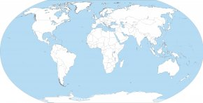Countries Cliparts - Saint Vincent And The Grenadines World Map Globe PNG