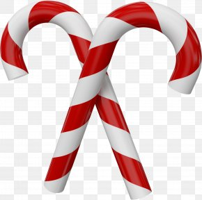 Large Transparent Christmas Candy Canes - Candy Cane Christmas Clip Art PNG