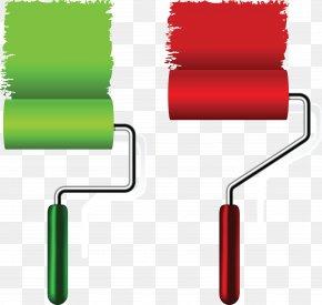 Paint - Paint Rollers Paintbrush PNG
