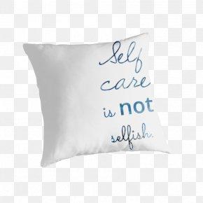 Pillow - Throw Pillows Cushion Textile Font PNG