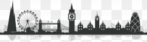 London City Silhouette - City Of London Silhouette PNG