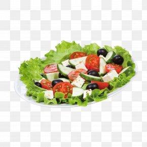 Salad - Greek Salad Berry Caesar Salad Stock Photography PNG