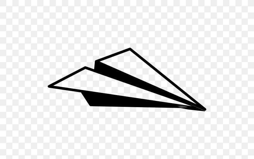Airplane Paper Plane Png 512x512px Airplane Black Black And White Drawing Flight Download Free