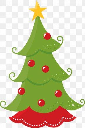 Fir-tree - Christmas Ornament Santa Claus Candy Cane Clip Art PNG