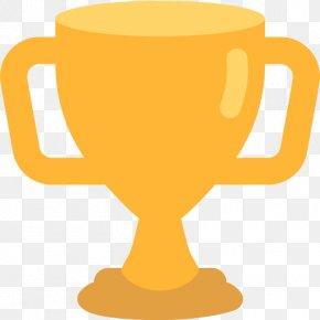 Trophy - Trophy Emoji Cup Text Messaging Clip Art PNG