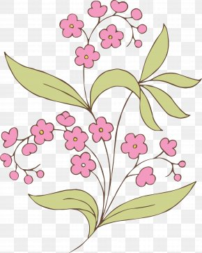 Free Stock Art Images - Flower Drawing Clip Art PNG