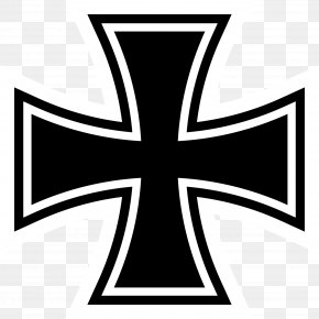 Iron Cross Cliparts - Germany Napoleonic Wars Iron Cross German Campaign Symbol PNG