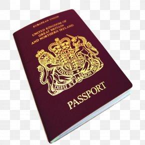 Passport - United Kingdom Brexit European Union British Passport PNG