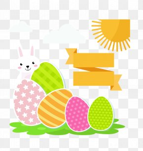 Pascoa - Easter Bunny Easter Egg Greeting & Note Cards PNG