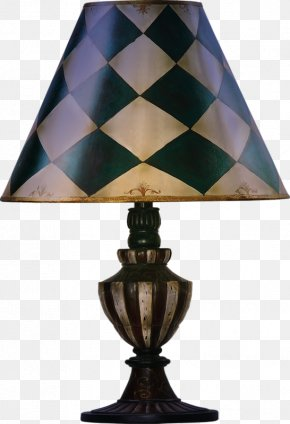 Western Classical Painted Lamp - Lamp PNG