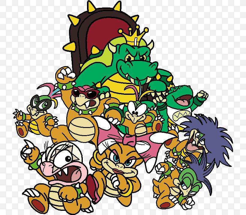 Bowser Super Mario Bros 3 Png 735x719px Bowser Art Artwork