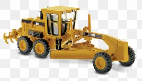 Caterpillar - Caterpillar Inc. Grader Die-cast Toy Heavy Machinery 1:50 Scale PNG