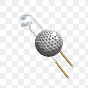 Golf Club And Ball - Golf Ball Clip Art PNG
