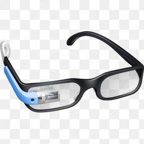 Model Glasses - Google Glass Icon Design Icon PNG