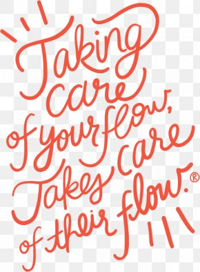 Take Care Of One's Health - Lettering Calligraphy Typography Font PNG
