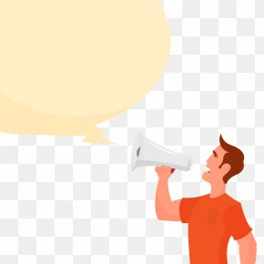Vector Business Speaker - Euclidean Vector Message Yellow Dialogue Illustration PNG