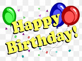 Birthday - Happy Birthday Wish Party Greeting & Note Cards PNG