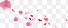Pink Petals Falling - Petal Pink Gratis PNG