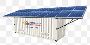 Solar Power - Solar Panels Stand-alone Power System Solar Power Solar Energy Intermodal Container PNG