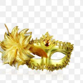 Mask - Mask Gold Ball Blindfold PNG