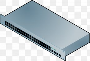 Computer Network - Network Switch Computer Network Dell PowerConnect Clip Art PNG