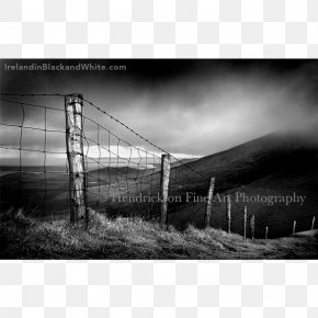 Ben 10 Black And White - Black And White Conor Pass Fine-art Photography Republic Of Ireland PNG