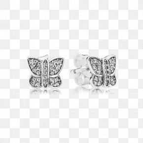 Forget Me Not - Earring Pandora Cubic Zirconia Charm Bracelet Discounts And Allowances PNG