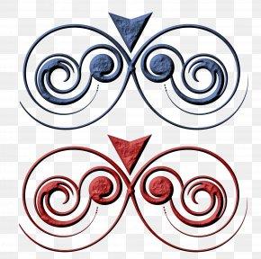 Design - Vignette Curlicue Clip Art PNG