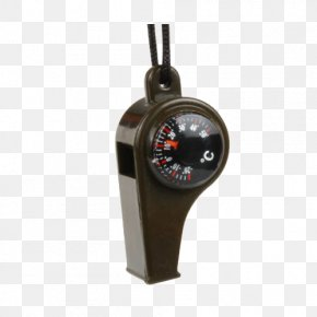 Outdoor Survival Whistle FE02- Army Green - Compass Thermometer Outdoor Recreation Google Images PNG