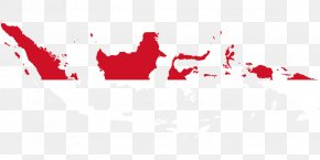 Map - Flag Of Indonesia Map National Flag PNG