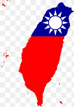 Taiwan Flag - Taiwan Map Flag Of The Republic Of China National Flag PNG