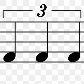 Musical Note - Tuplet Musical Notation Tie Musical Note PNG
