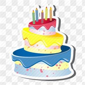Birthday Cake Icons No Attribution - Birthday Cake Layer Cake PNG
