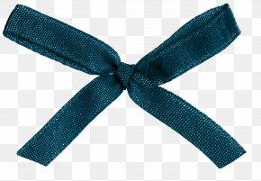 Black Ribbon Knot - Black Ribbon Gift PNG
