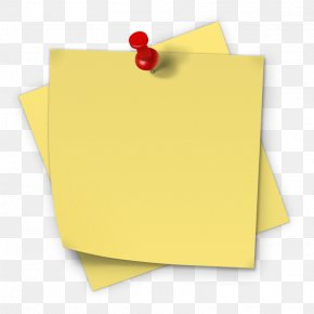 Sticky Note - Post-it Note Paper Sticker Sticky Notes Adhesive PNG