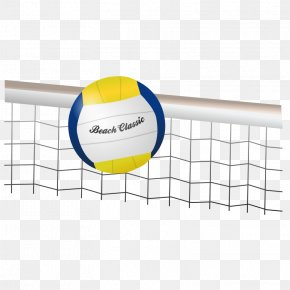 Vollyball Clipart - Beach Volleyball Volleyball Net Clip Art PNG