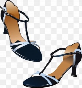High-heeled Shoes - Slipper Shoe High-heeled Footwear Sandal Clip Art PNG