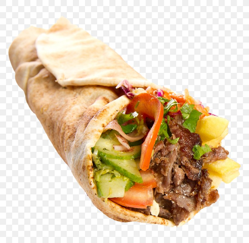 Doner Kebab Wrap Turkish Cuisine Deniz Kebab House Turkish Kitchen Png 800x800px Kebab American Chinese Cuisine