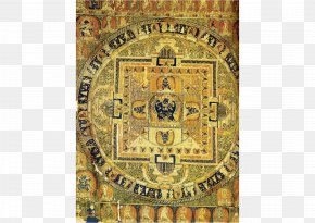Yu Yuan - Tibet Buddhism Mandala Yamantaka Thangka PNG