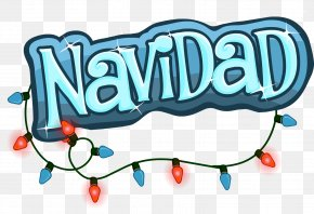 Christmas - Christmas Party Club Penguin Logo Candy Cane PNG