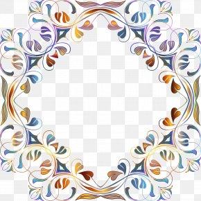 Floral Frame - Flower Picture Frames Floral Design Clip Art PNG